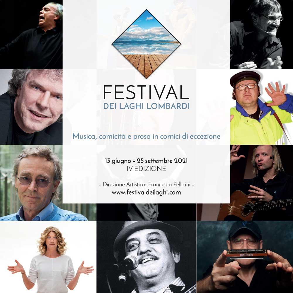 Brochure del Festival dei Laghi Lombardi edizione 2021